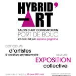 Hybrid'art 2021, salon d'art contemporain