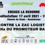 Marche de défense de l'environnement