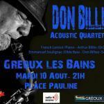 Concert Don Billiez / SQ5 - Gréoux-les-bains