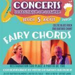 Concert Fairy Chords - La Boutique de la Bière (St Tulle)
